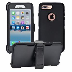 official photos 37147 1aee9 OtterBox Rugged Case for iPhone 6 Plus or 6s plus Shockproof Cover with  Belt Clip