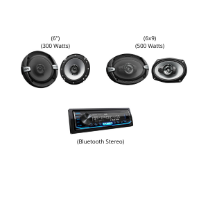 JVC CAR SOUND BUNDLE